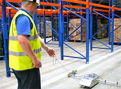 Floor testing services